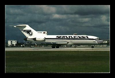 Dr Jim Stamps Us Servivensa Airplane Miami International Airport Postcard