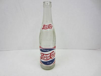 Vintage 1940's Red,White & Blue DOUBLE DOT PEPSI:COLA BOTTLE Red Lodge, Montana