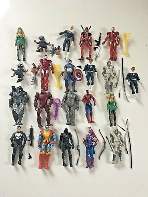 Marvel Universe 3.75 Figures 21 Figure Lot Action Figure (C)