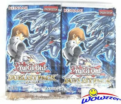 24x Yugioh Duelist Pack KAIBA (DPKB) Unsearched Factory Sealed Booster Pack Lot!