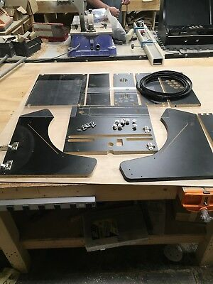"Extra Wide Bartop Arcade Cabinet Deluxe Kit - Easy Assembly, for 22"" Monitor, ac"