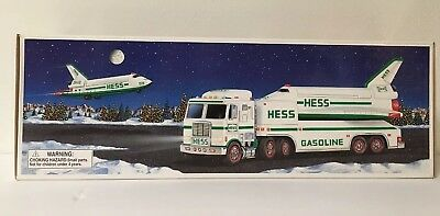 Hess 1999 Toy Truck & Space Shuttle With Satellite NEW In Original Box