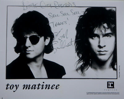 """Kevin Gilbert TOY MATINEE Signed Autographed Promo 8"""" X 10"""" Rock Publicity Photo"""