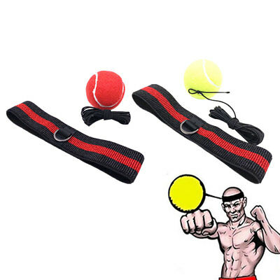 Sports Fight Ball Headband for Reflex Speed Boxing Punch Exercise Tool Short