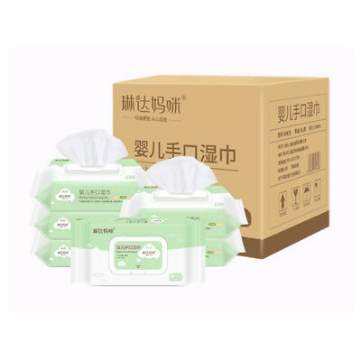 Sensitive Protect Baby Wet Wipes Body Cleaning 80 Wipes Per Pack Extra Soft NEW