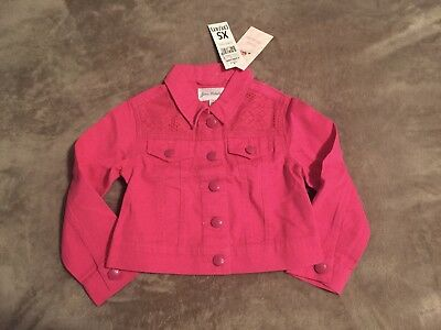 Jona Michelle lavender twill girls Jacket Medium 7//8