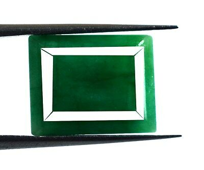 Emerald Cut 10 Ct+ Green Emerald Loose Gemstone Natural Brazilian Birthstone