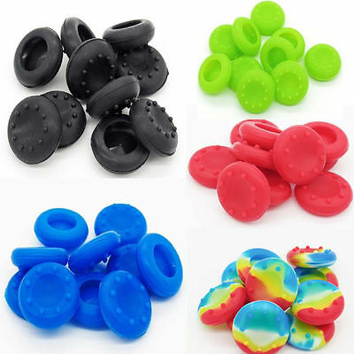 10X XBOX PS3 PS4 ONE 360 Rubber Controller Grips Thumb Stick Grip Pad Thumbstick