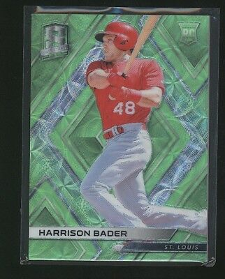 2018 Panini Spectra HARRISON BADER rookie RC Green /49 Cardinals