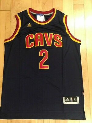 free shipping e2a28 775db KYRIE IRVING #2 Cleveland Cavaliers Vintage Throwback Basketball Jersey Men  XL