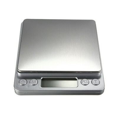 Digital Scale 2Kg / 0.1G Electronic Scale for Jewelry Gold Silver Coin Kitchen