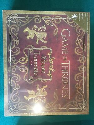 Game Of Thrones House Of Lannister Stationery Set New