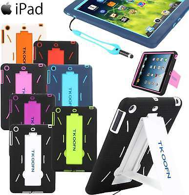 Kids Heavy Duty Case Silicone Shock Proof Cover For iPad 2/3/4 A1458 A1459 A1460