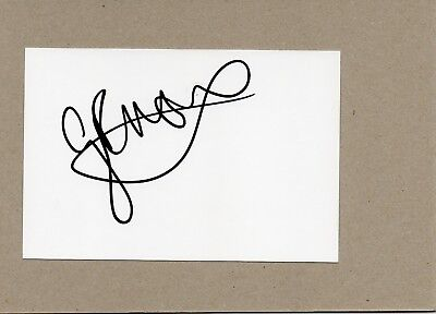 George North - Wales Rugby - Signed 6X4 Card