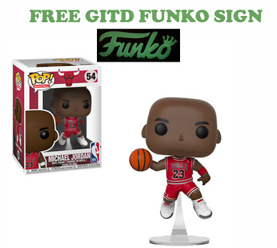 Funko POP! NBA: Chicago Bulls - Michael Jordan #54 + FREE GITD SIGN - PRE ORDER