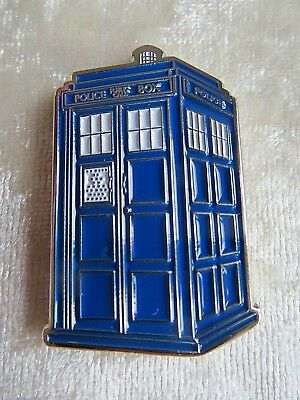 Geocaching Geocoin Trackable Police Box Dr Who Coin