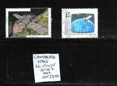 Canada 1992 Space set used