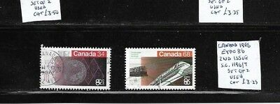 Canada 1986 Expo 86 2nd issue set used