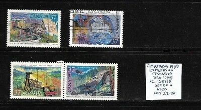Canada 1988 Exploration set 3rd issue used