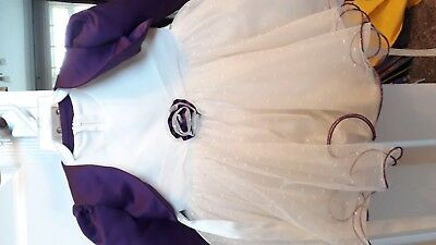 Ivory girls christening or bridesmaid gown age 6 months