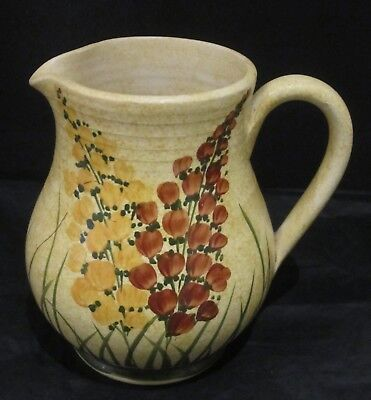 Eary Radford Jug With Hand Painted Floral Design