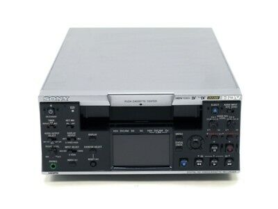 Sony HVR-M25U 1080i HDV DVCAM DV Digital VCR Player Recorder Deck NTSC PAL 12TH