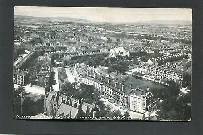 Glasgow - View from University Tower looking NNW by Gowans & Gray