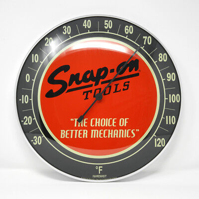 """12"""" Limited Edition Snap-on Tools Collectible Fahrenheit Thermometer Home/Garage"""