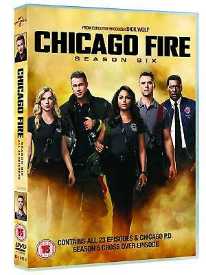 Chicago Fire Season 6 DVD New & Sealed Region 2 UK Fast Delivery