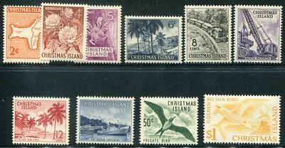 CHRISTMAS ISLAND 11 - 20  Beautiful Mint NEVER Hinged Set UPTOWN 47947