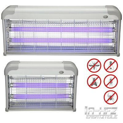 Electric industrial insect killer bug fly zapper trap UV tube lamp chain 20W 40W