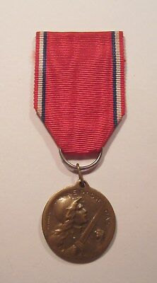 VINTAGE WW I French Battle of Verdun Medal