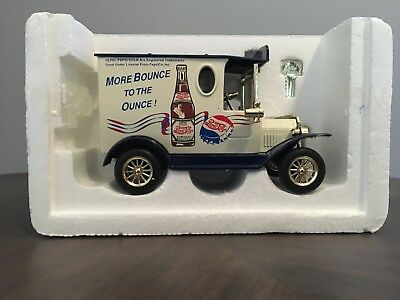 Vintage Pepsi Cola Die Cast Delivery Truck Bank