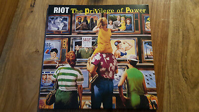 Riot The Privilege Of Power Gatefold Dolp