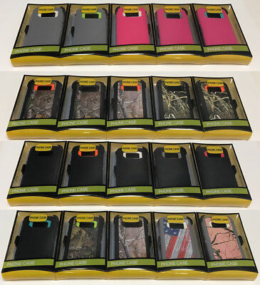 For Samsung Galaxy S6 Plus S7 Edge Case Cover (Belt Clip Fits Otterbox Defender)
