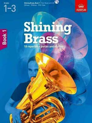 Shining Brass, Book 1 by Abrsm (English) Book & Merchandise Book Free Shipping!