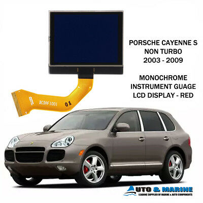 Porsche Cayenne Monochromatic Lcd Vdo Display Screen 2003 - 2009 Uk Seller.. New