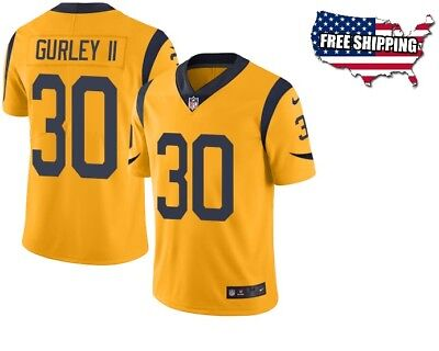 cheap for discount dc98a e8709 TODD GURLEY LOS Angeles RAMS Nike NFL COLOR RUSH Legend ...