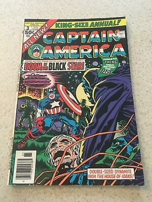 Captain America King Size Special  3  VF/NM  9. 0 High Grade  Kirby Art