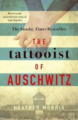The Tattooist of Auschwitz by Heather Morris (paperback), Fiction Books, New