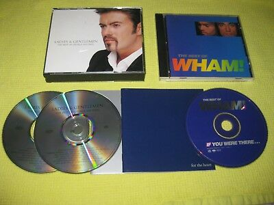 George Michael Ladies And Gentlemen & The Best Of Wham 2 CD Albums ft Freedom