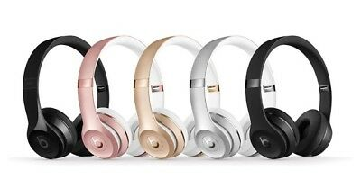 Genuine Beats by Dr. Dre Solo3 Wireless Headband Headphones Pick Color