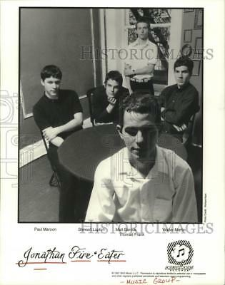 1997 Press Photo Members of the music group Jonathan Fire & Eater - hcp05097