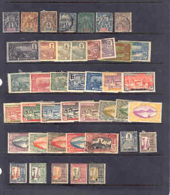 oldhal-Guadeloupe/Lot of Mint & Used