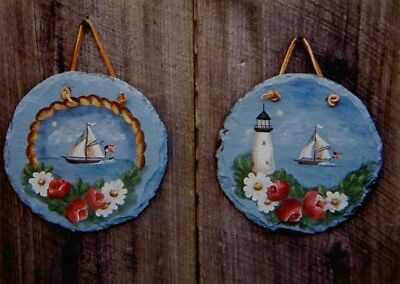 """Susie Saunders tole painting pattern """"Cape Cod"""""""