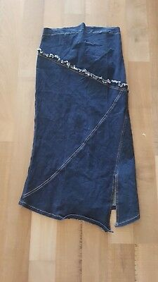 Pea in a pod stretchy denim skirt - 8