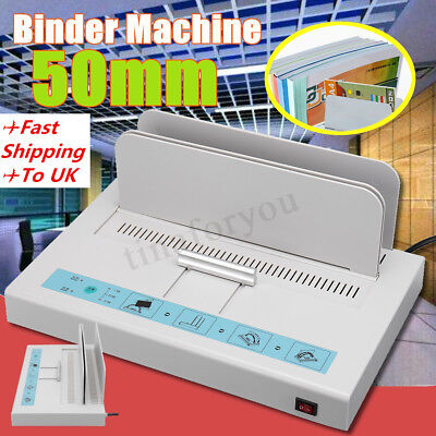 Pro Binding Machine A4 Paper Books Thermal Binder Quick Booklet Maker Dust-proof