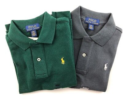 Lot Of 2 NWT POLO RALPH LAUREN Toddler Boys Size 3T Pony Mesh Polo Shirt