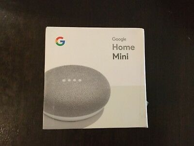 Google Home Mini Smart Assistant - Chalk - Perfect Condition