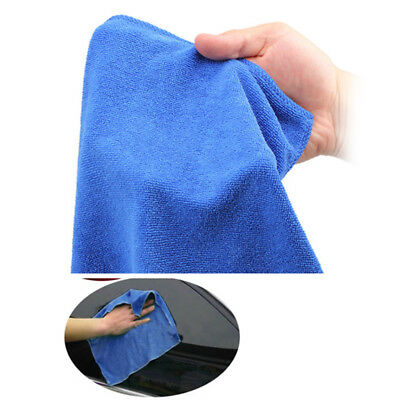 10pcs 30x30cm Microfiber Towel Car Home Kitchen Dry Cleaning Absorbant Cloth